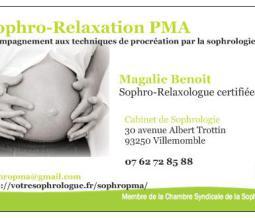 Sophrologue-Relaxologue spécialisée en PMA dans le 93 Seine-Saint-Denis à Villemomble