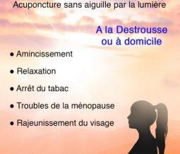 Praticienne luxopuncture, diététicienne dans le 13 Bouches-du-Rhône à La Destrousse