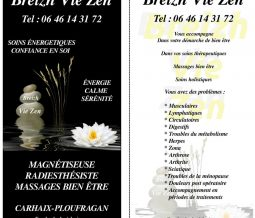 Radiesthésie, magnétiseuse dans le 29 Finistère à Carhaix-Plouguer