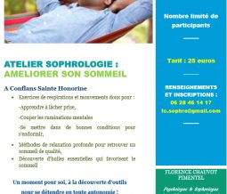 Atelier de sophrologie : Améliorer son sommeil