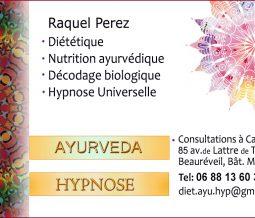 Diététicienne ayurvédique hypnose dans le 06 Alpes-Maritimes à Cannes