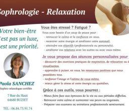 Sophrologie relaxation dans le 64 Pyrénées-Atlantiques à Buziet