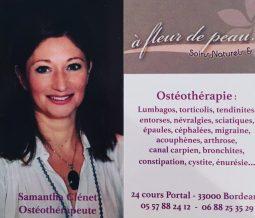 Ostéothérapeute, massothérapeute, énergéticienne dans le 33 Gironde à Bordeaux