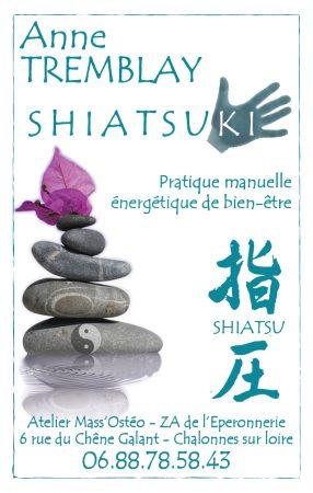 Shiatsu dans le 49 Maine-et-Loire à Chalonnes-sur-Loire