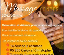 Massage bien être dans le 95 Val-d'Oise à Cergy