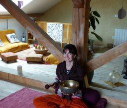 Yoga, bains et massages sonores aux bols tibétains dans le 26 Drôme à Vassieux-en-Vercors